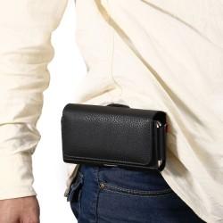 Custodia Leather case Etui Funda Taschen per Universal 3.5 / 4.8 14.3*7.5*3.5 cm