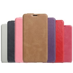 Custodia Cover Leather case Housse Funda Handy taschen per Cubot X17s