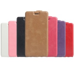 Custodia Cover Leather case Housse Funda Handy taschen per Archos Diamond 2 Plus
