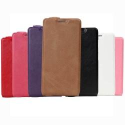 Custodia Cover Leather case Etui Housse Funda Handy taschen per Wiko U Feel