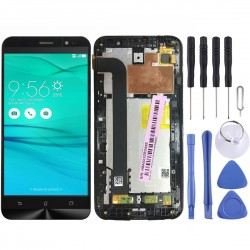 Display LCD + Touch Screen Con Frame Asus Zenfone GO ZB552KL X007D Schermo Vetro