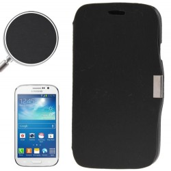 CUSTODIA NERA  SIMILPELLE PER SAMSUNG GALAXY GRAND LITE i9060