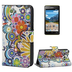 CUSTODIA SIMILPELLE PER HUAWEI ASCEND Y530