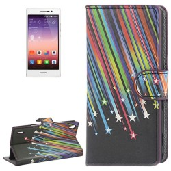 CUSTODIA SIMILPELLE PER HUAWEI ASCEND P7
