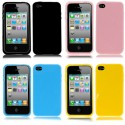 CUSTODIA SILICONE MORBIDO  TPU PER APPLE IPHONE 4 4S