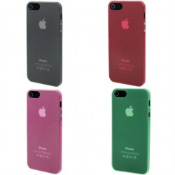 CUSTODIA  TPU  SEMIRIGIDA PER APPLE IPHONE 5 5S