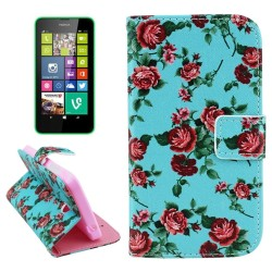 CUSTODIA  SIMILPELLE PER NOKIA LUMIA 630