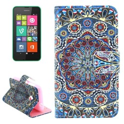 CUSTODIA  SIMILPELLE PER NOKIA LUMIA 530