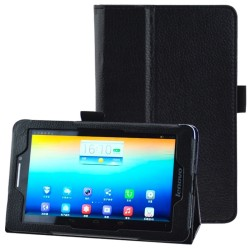 CUSTODIA NERA SIMILPELLE PER TABLET  LENOVO S5000