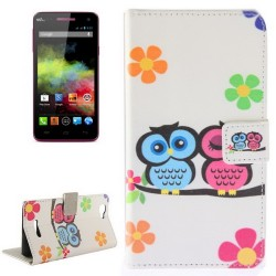 CUSTODIA SIMILPELLE PER WIKO RAINBOW