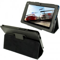 CUSTODIA NERA SIMILPELLE PER TABLET ACER ICONIA B1-A71