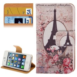 CUSTODIA SIMILPELLE PER APPLE IPHONE 4 4S
