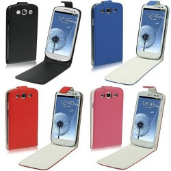 CUSTODIA IN SIMILPELLE PER SAMSUNG GALAXY S3 I9300