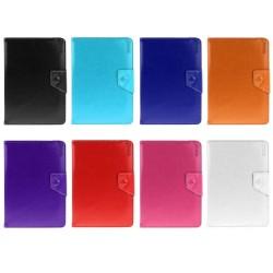 CCustodia Etui Housse Funda Handy taschen Flip Cover Universale per Tablet 7 Inch