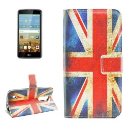 Custodia Cover Wallet Etui Housse Funda Handy taschen leather Case per LG K7
