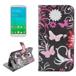 Custodia Cover Leather case Etui Housse Funda Handy taschen per Alcatel OneTouch POP S9